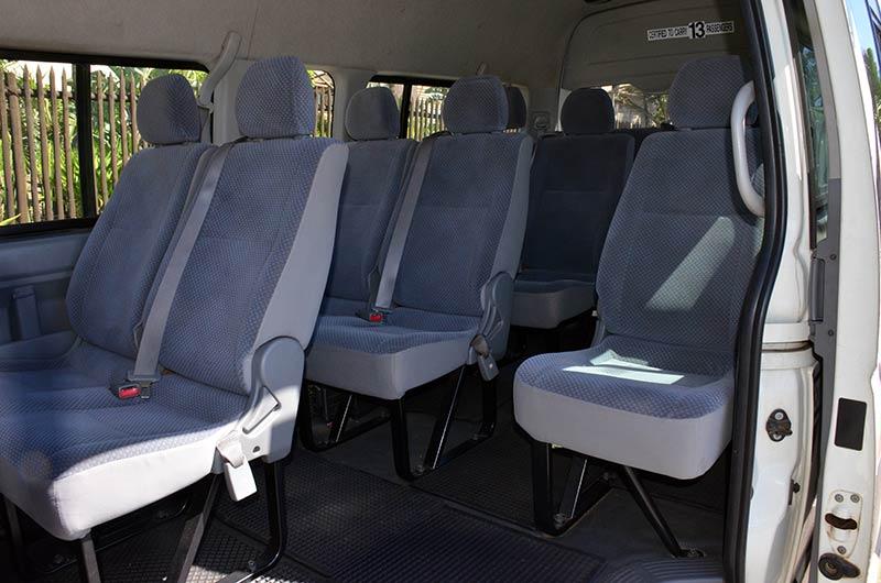 Zulu Safaris - TRANSFERS (Our Vehicles)