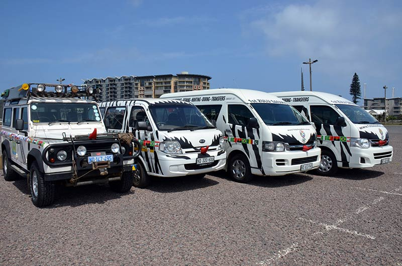 Zulu Safaris - TRANSFERS (Our Vehicles)